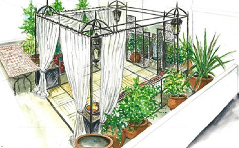 Progettazione giardini milano la progettazione del - Progetto di un giardino ...